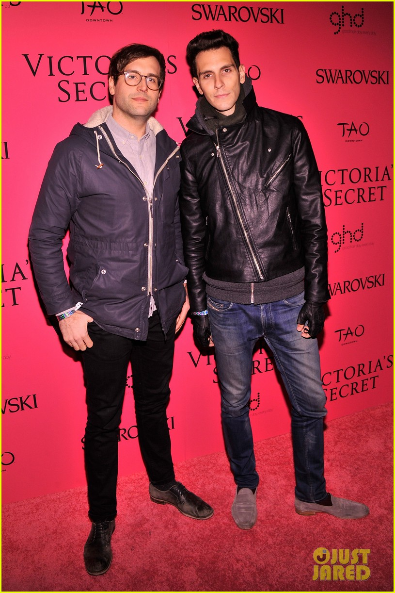 dylan mcdermott jamie chung victorias secret fashion show after party 2013 192992590