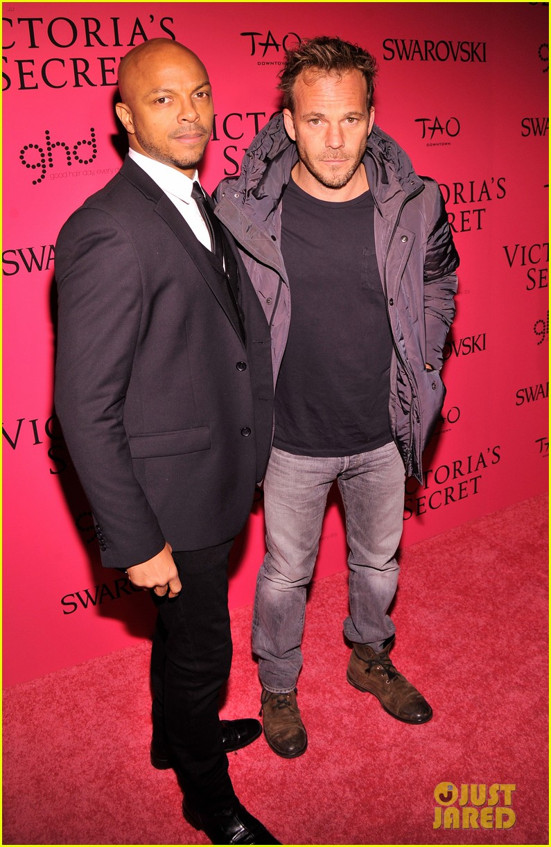 dylan mcdermott jamie chung victorias secret fashion show after party 2013 202992591