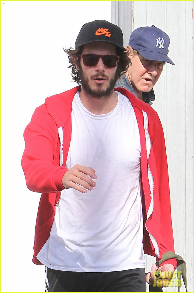 leighton meester adam brody step out after engagement 042997522