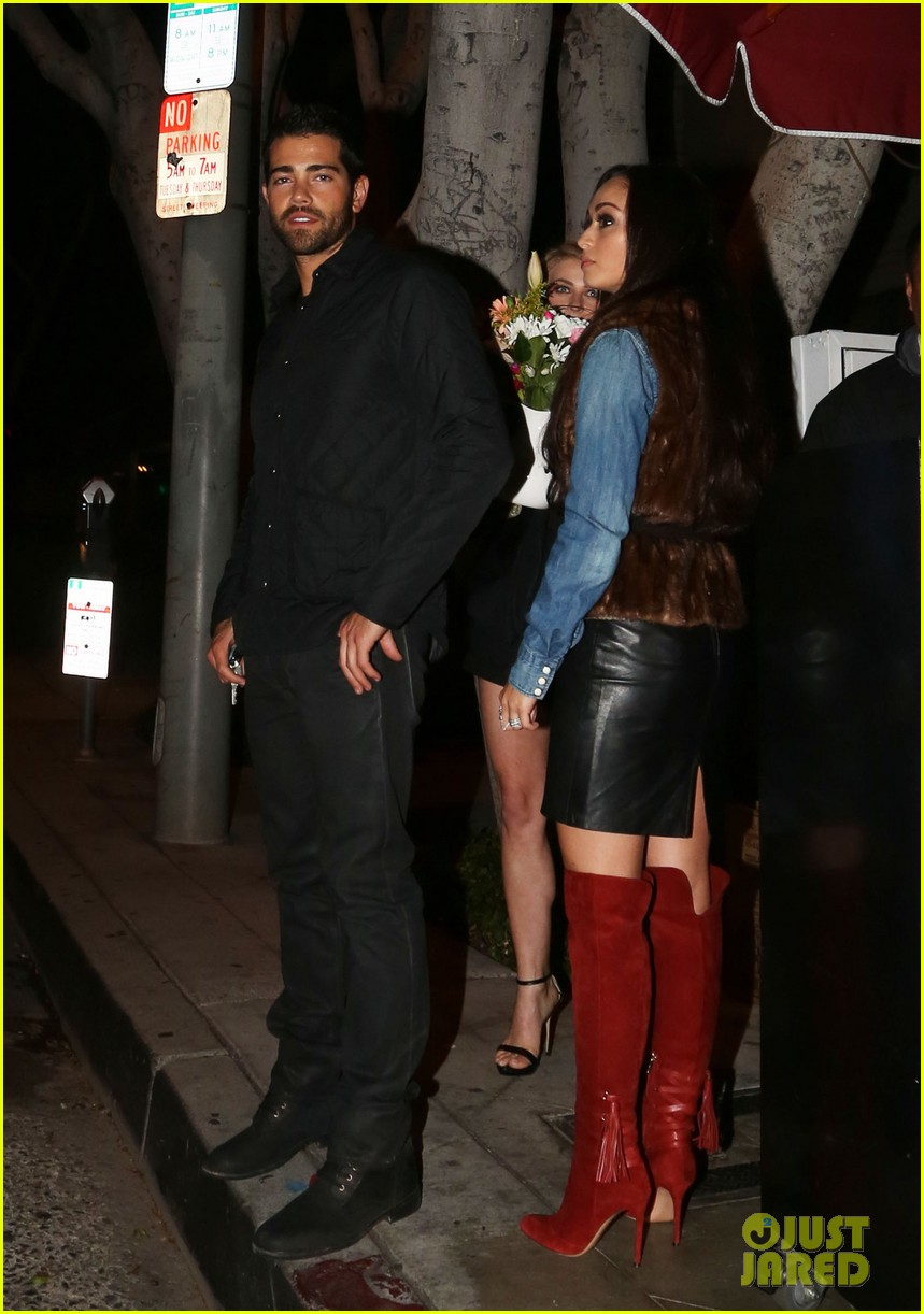 jesse metcalfe cara santana dinner with julianne hough 062995350