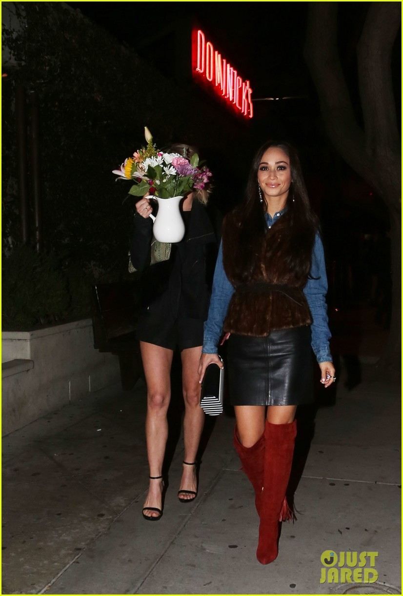 jesse metcalfe cara santana dinner with julianne hough 122995356