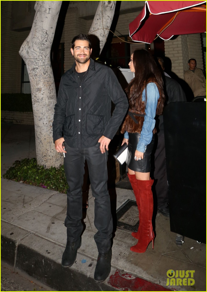 jesse metcalfe cara santana dinner with julianne hough 242995368