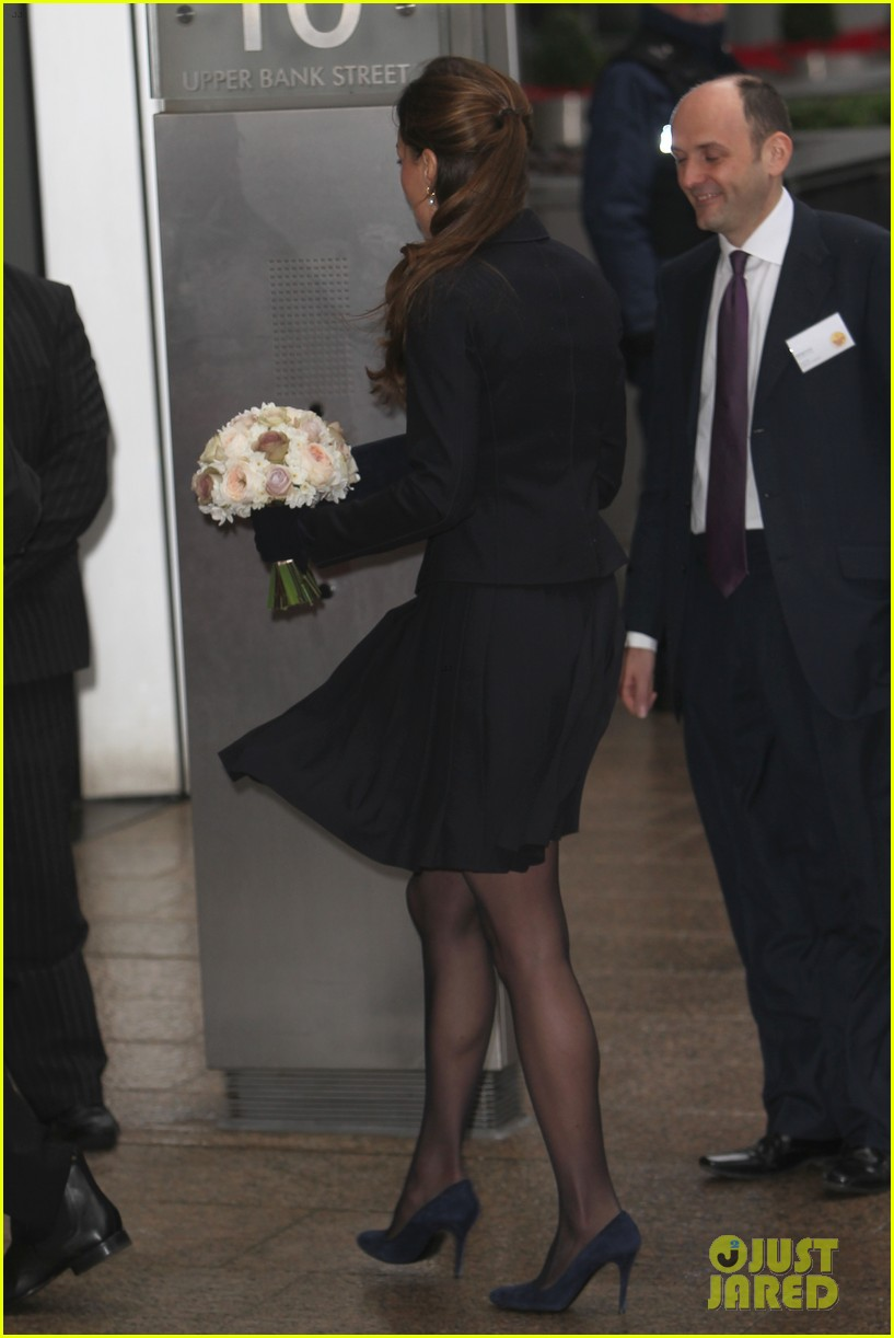 kate middleton place2be forum visit 03