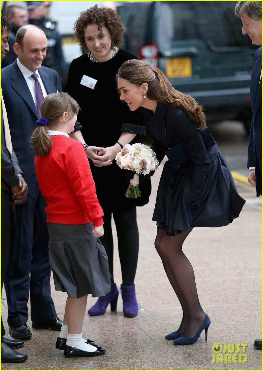 kate middleton place2be forum visit 05
