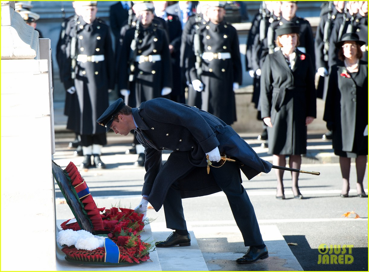 kate middleton prince william remembrance sunday sevice 20