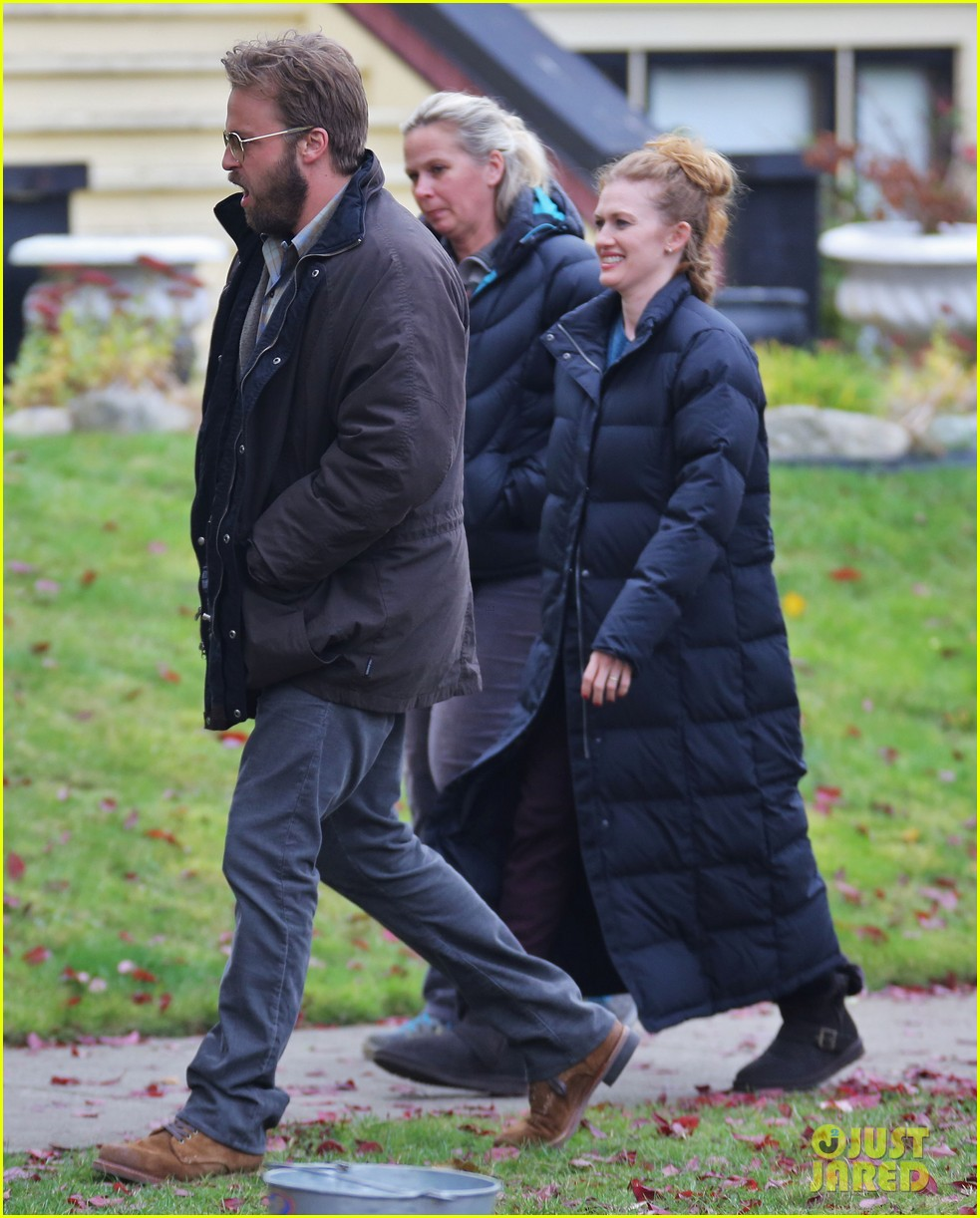 chloe moretz first day on if i stay set 022983770