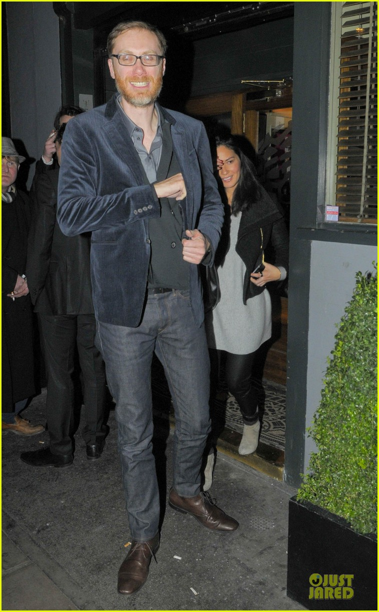 olivia munn groucho club with stephen merchant 032994053