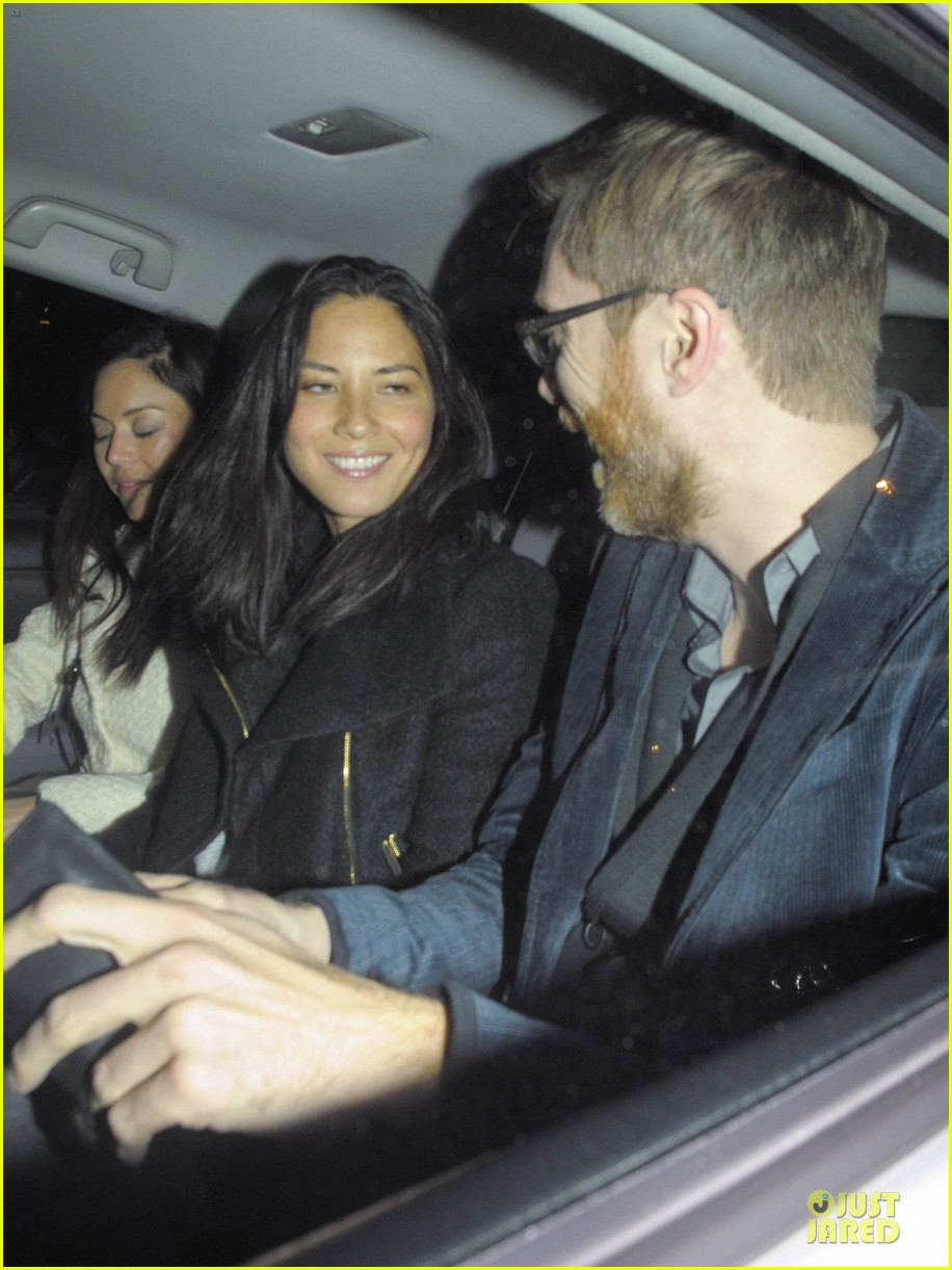 olivia munn groucho club with stephen merchant 072994057