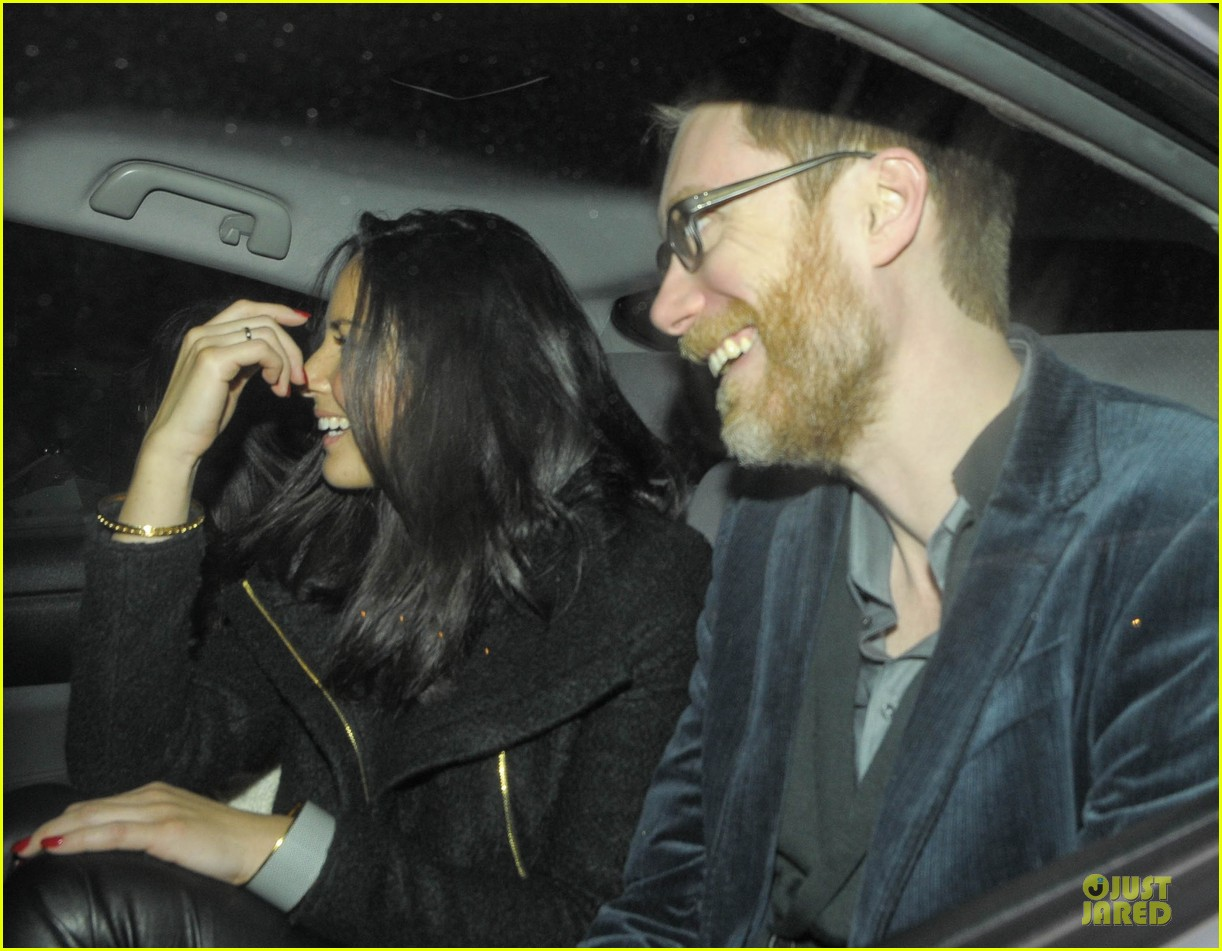 olivia munn groucho club with stephen merchant 12