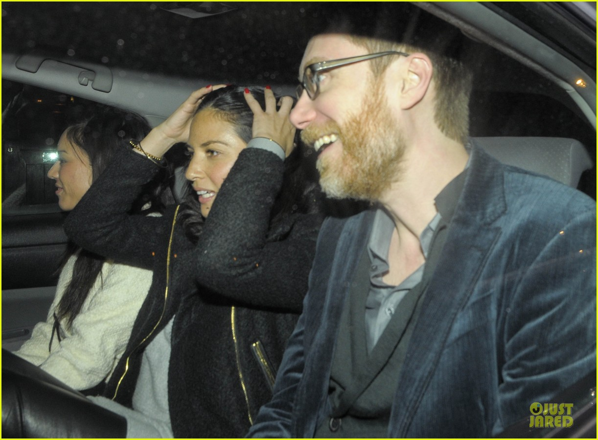 olivia munn groucho club with stephen merchant 132994063