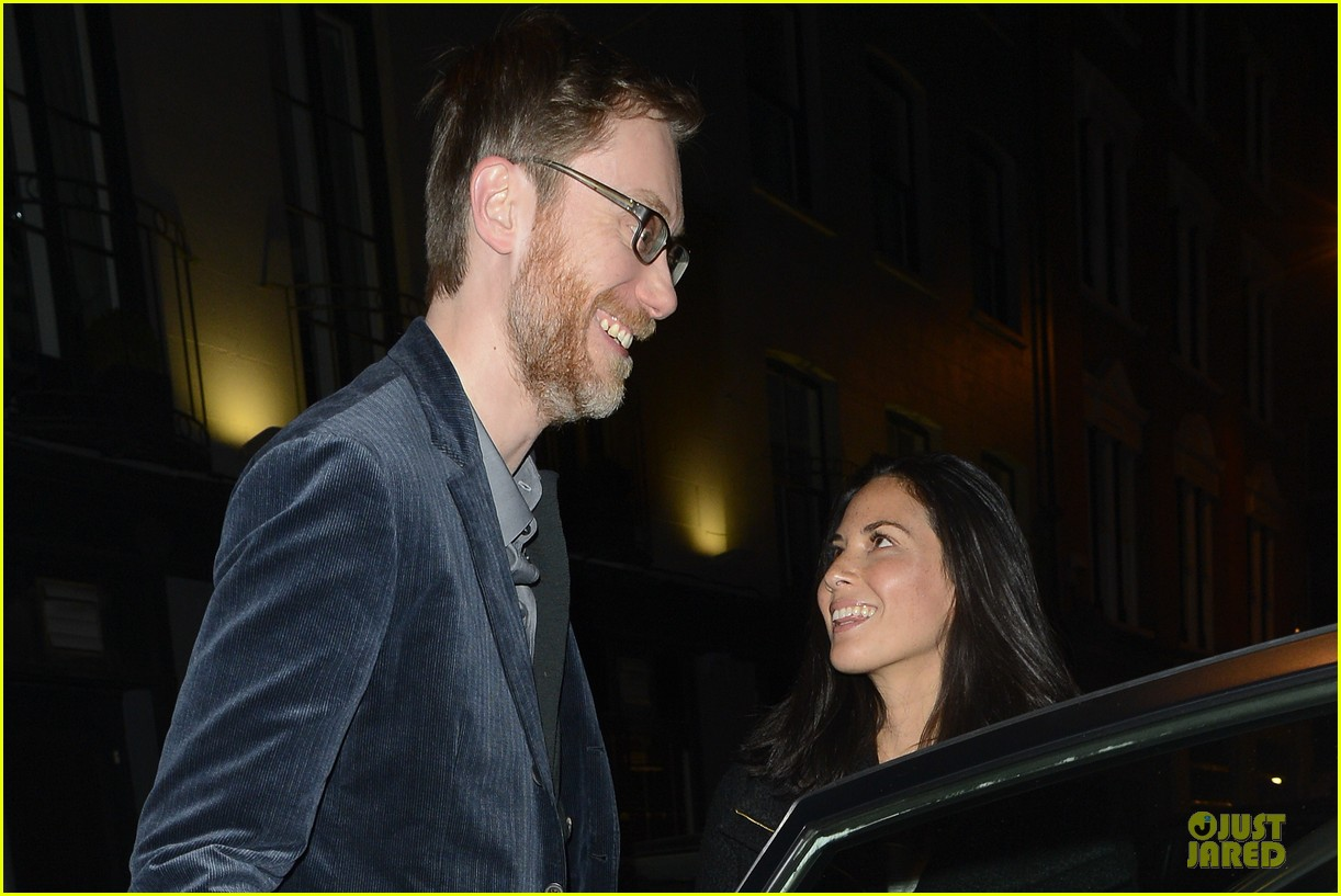 olivia munn groucho club with stephen merchant 172994067