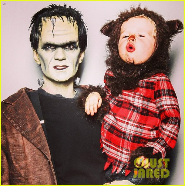 neil patrick harris family hallowen photo 2013 monsters 012984079