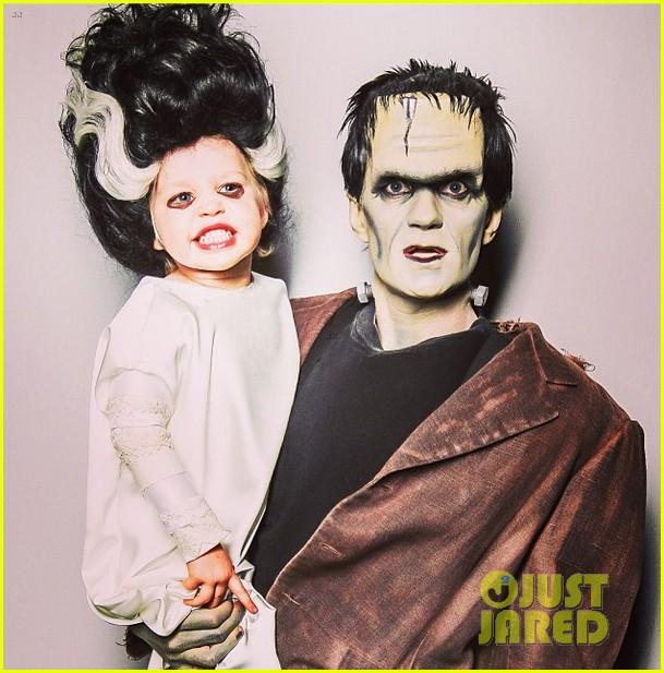neil patrick harris family hallowen photo 2013 monsters 032984081