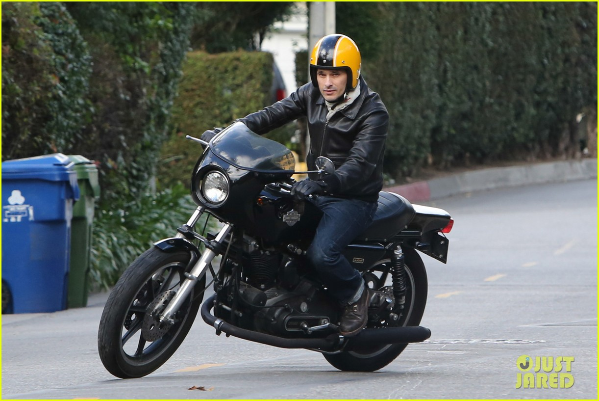 olivier martinez back on the road after minor fender bender 193001333