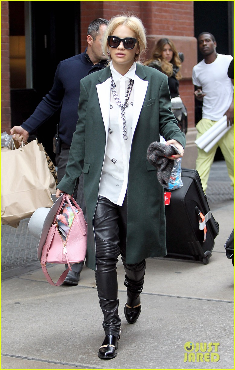 rita ora wears red wig for halloween in new york city 082983939