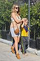 teresa palmer glowing lunch with nephew 10
