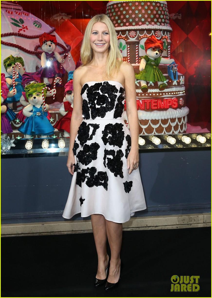 gwyneth paltrow printemps christmas decorations inauguration 032987752