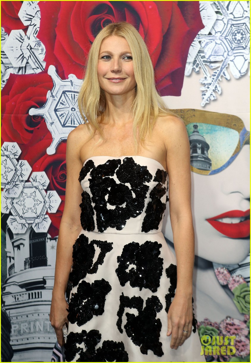 gwyneth paltrow printemps christmas decorations inauguration 042987753