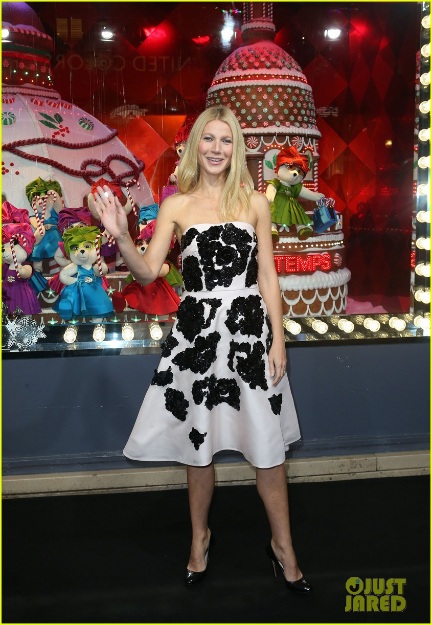 gwyneth paltrow printemps christmas decorations inauguration 062987755
