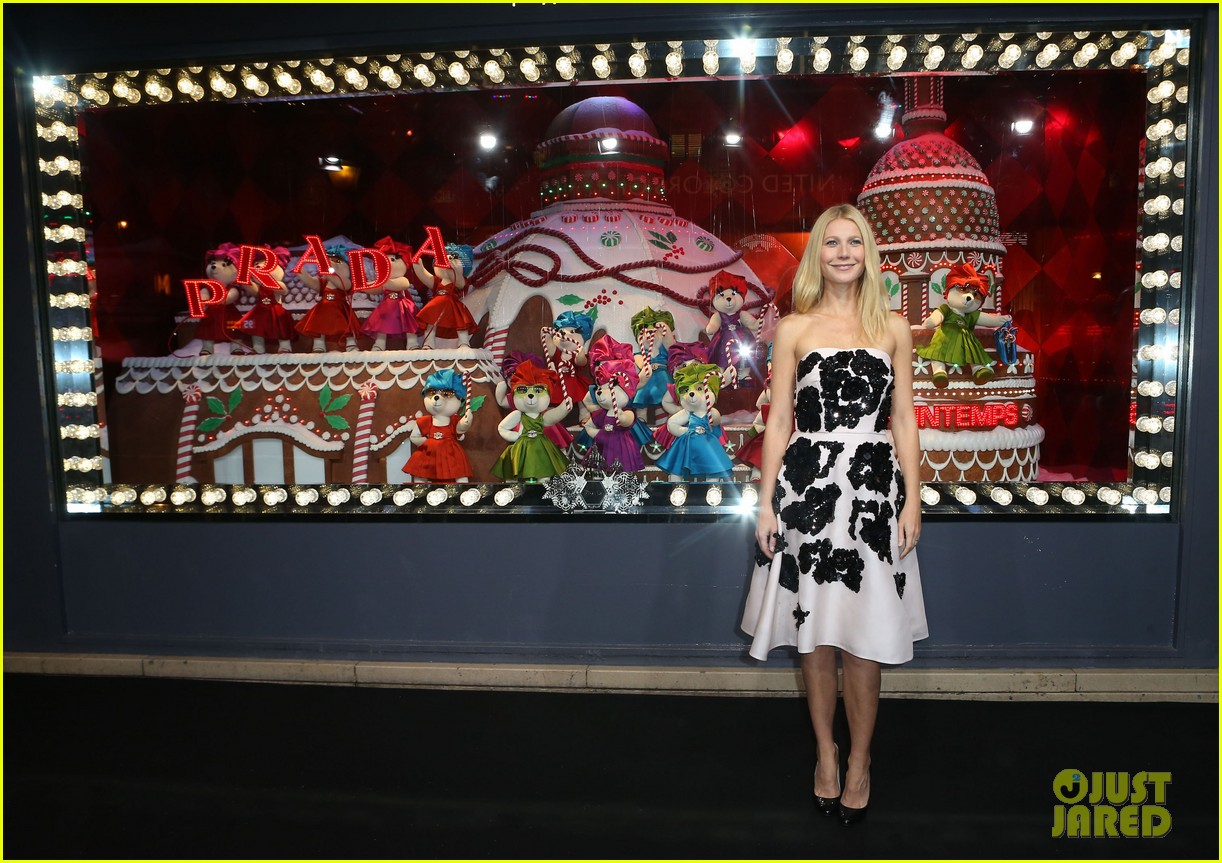 gwyneth paltrow printemps christmas decorations inauguration 15