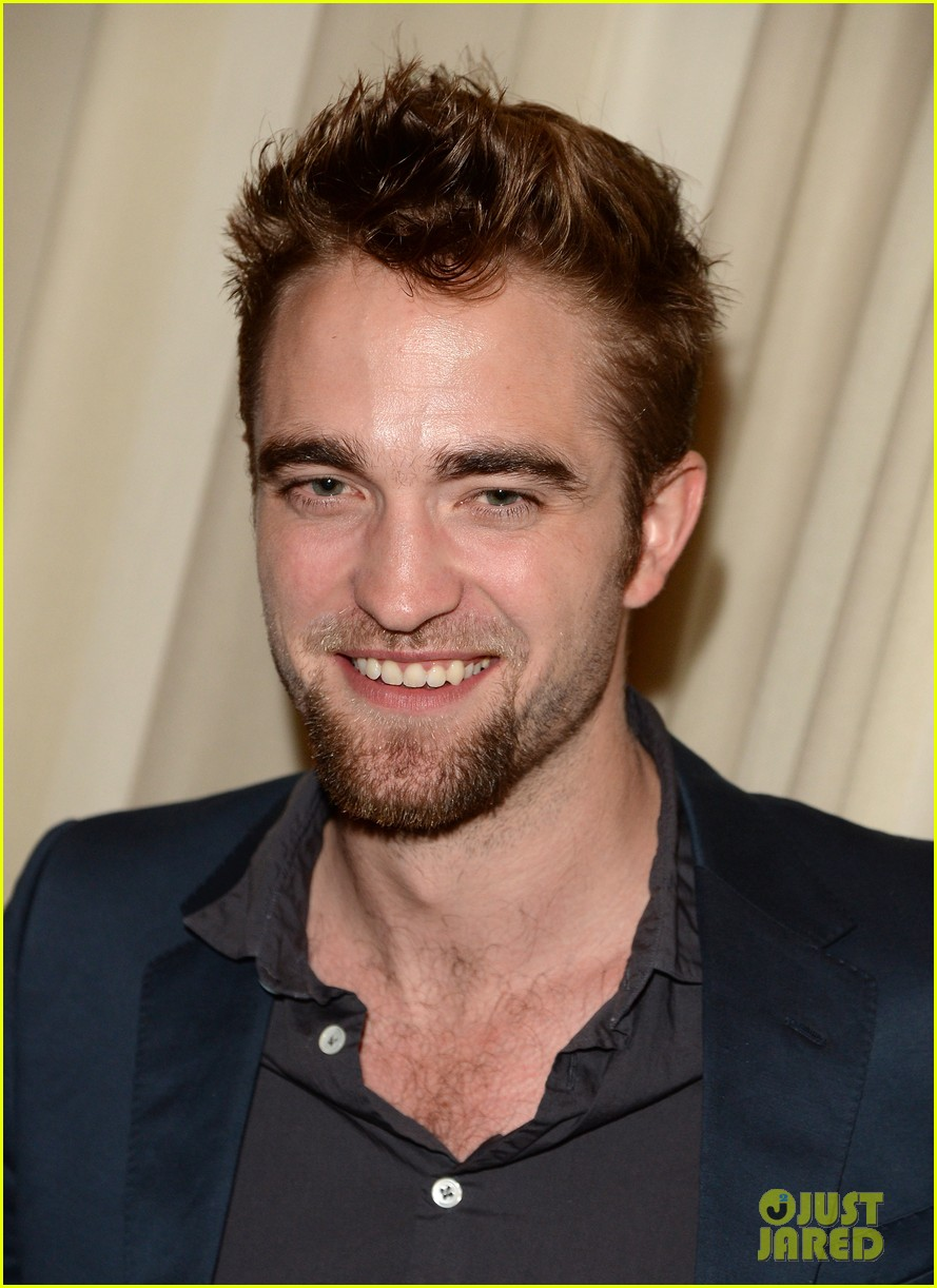 robert pattinson shows off new goatee at go go gala 032993267