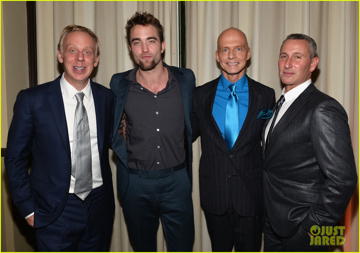 robert pattinson shows off new goatee at go go gala 042993268