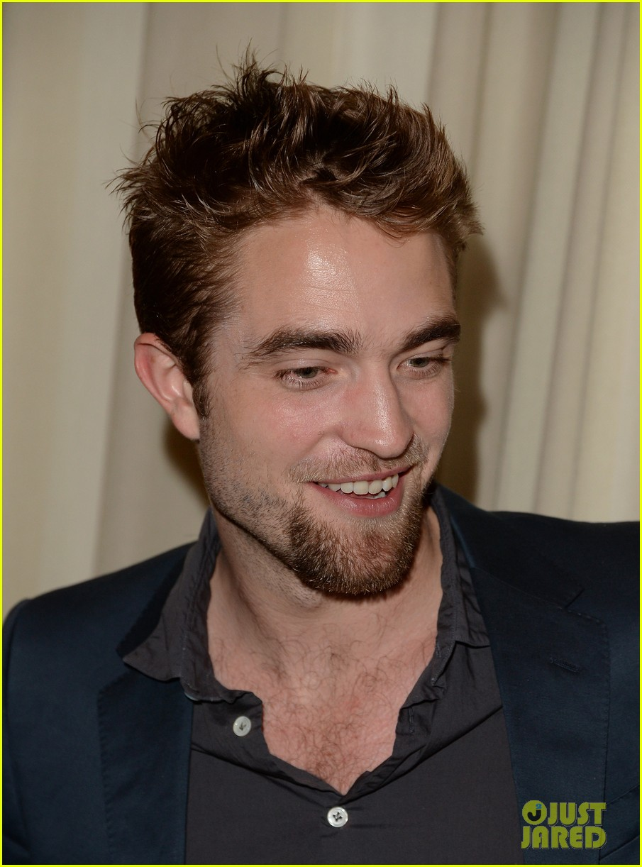 robert pattinson shows off new goatee at go go gala 082993272