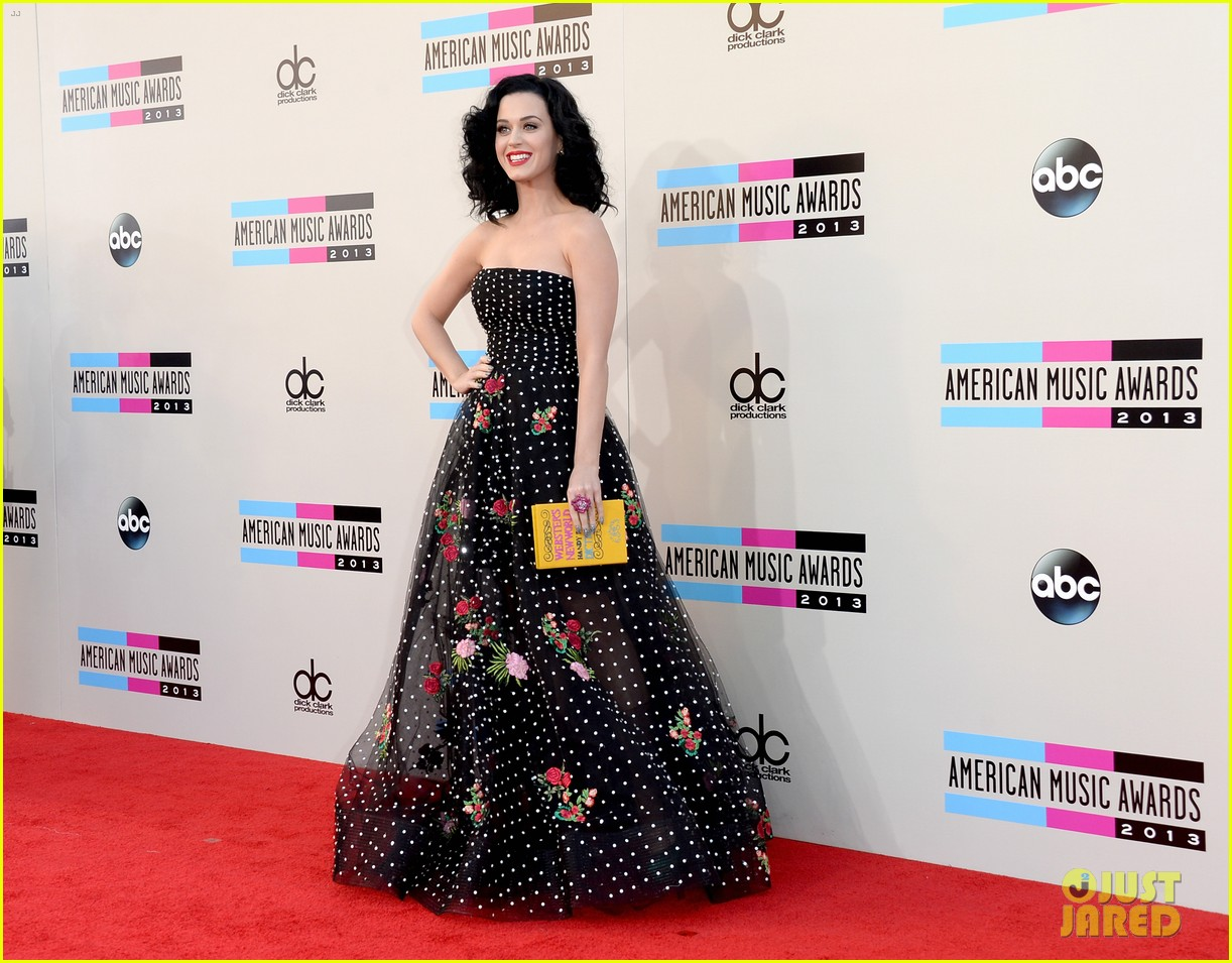 katy perry amas 2013 red carpet 012999197
