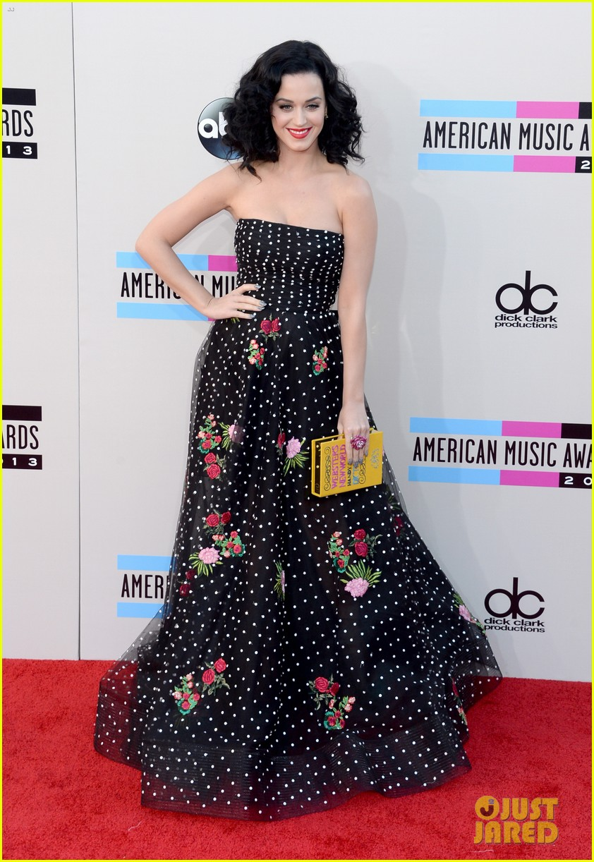 katy perry amas 2013 red carpet 112999207