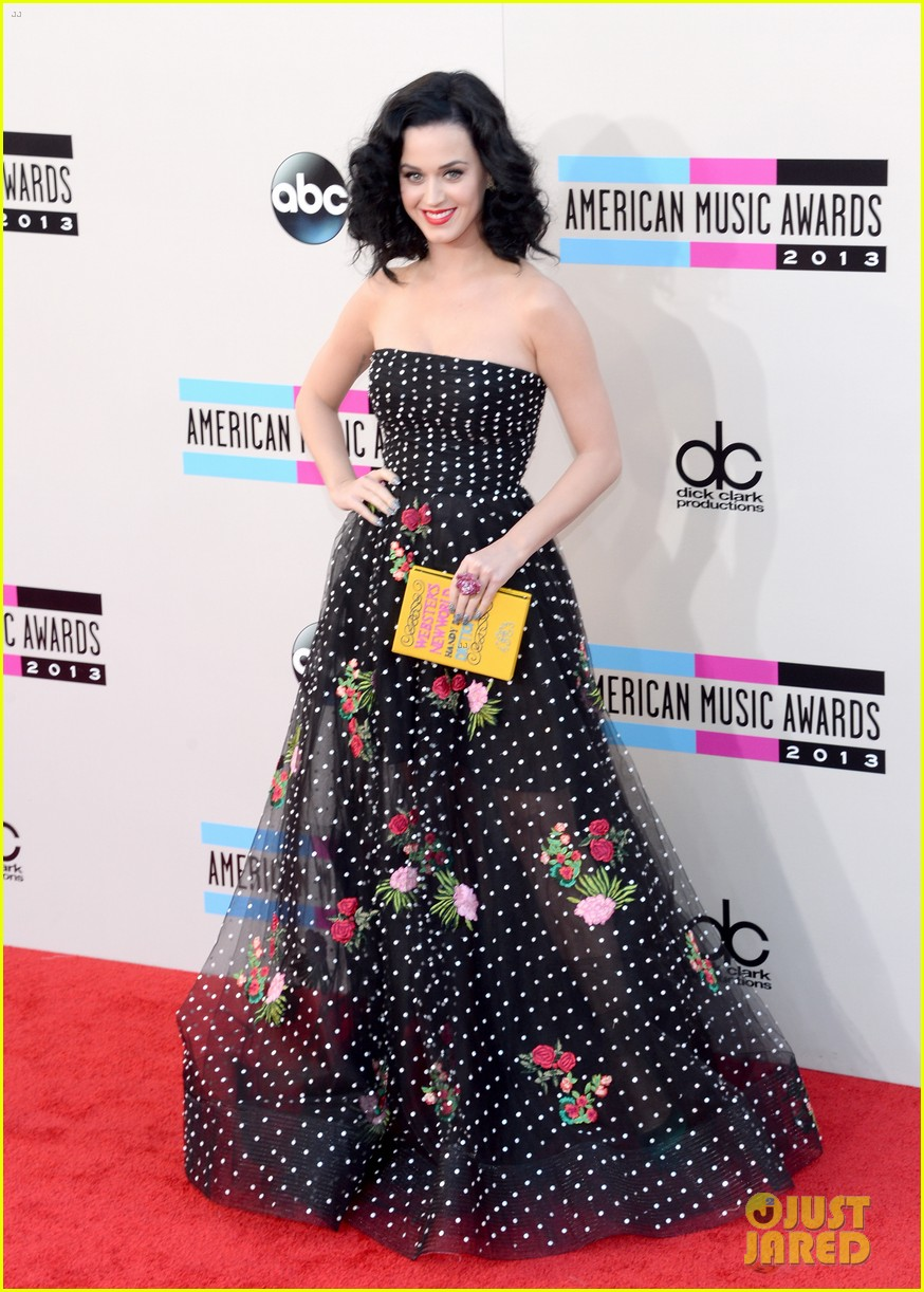 katy perry amas 2013 red carpet 15