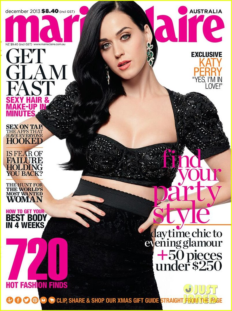 katy perry covers marie claire australia december 2013 01