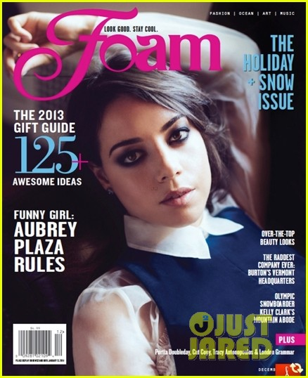 aubrey plaza covers foam 012988445
