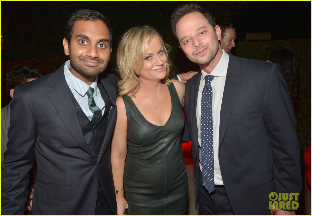amy poehler nick kroll gq men of the year party 022991490