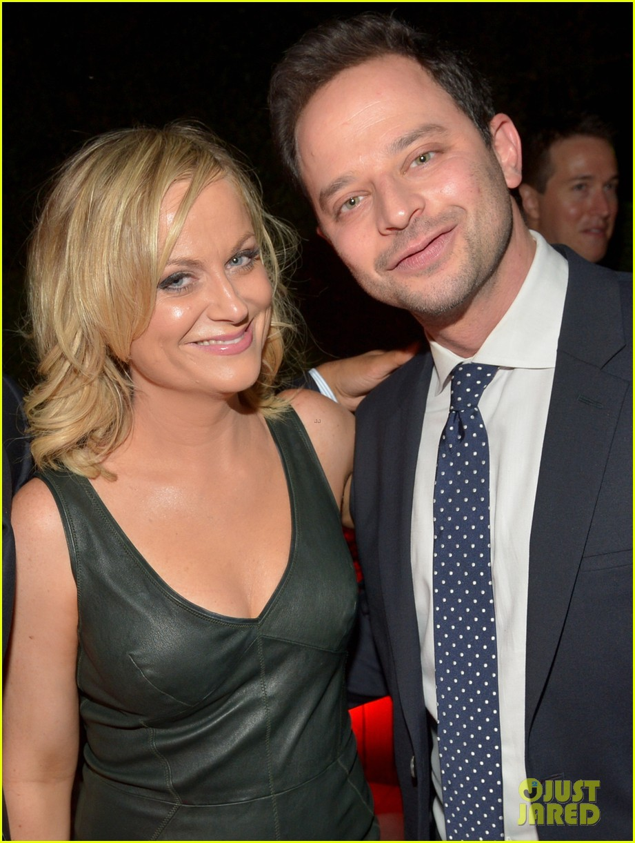 amy poehler nick kroll gq men of the year party 12