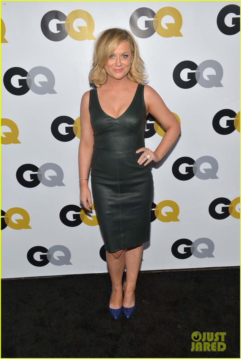 amy poehler nick kroll gq men of the year party 202991508