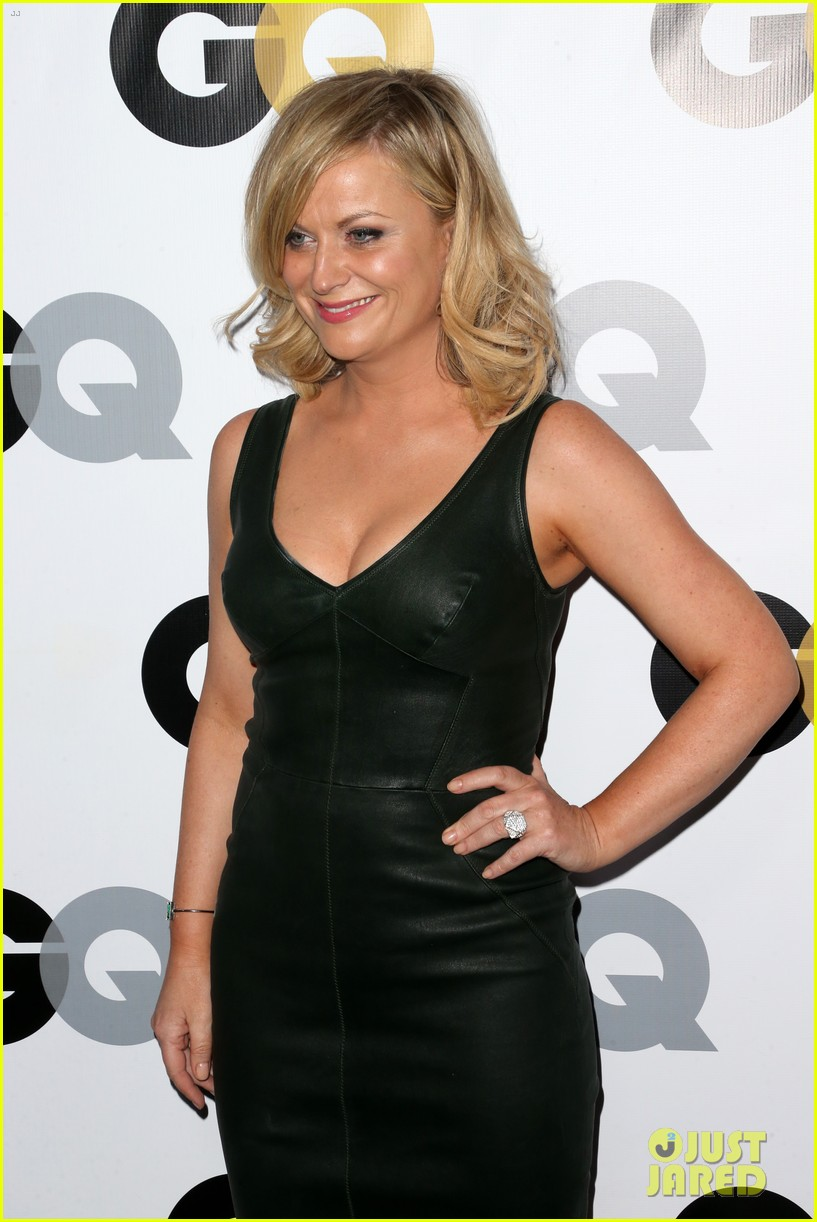 amy poehler nick kroll gq men of the year party 212991509