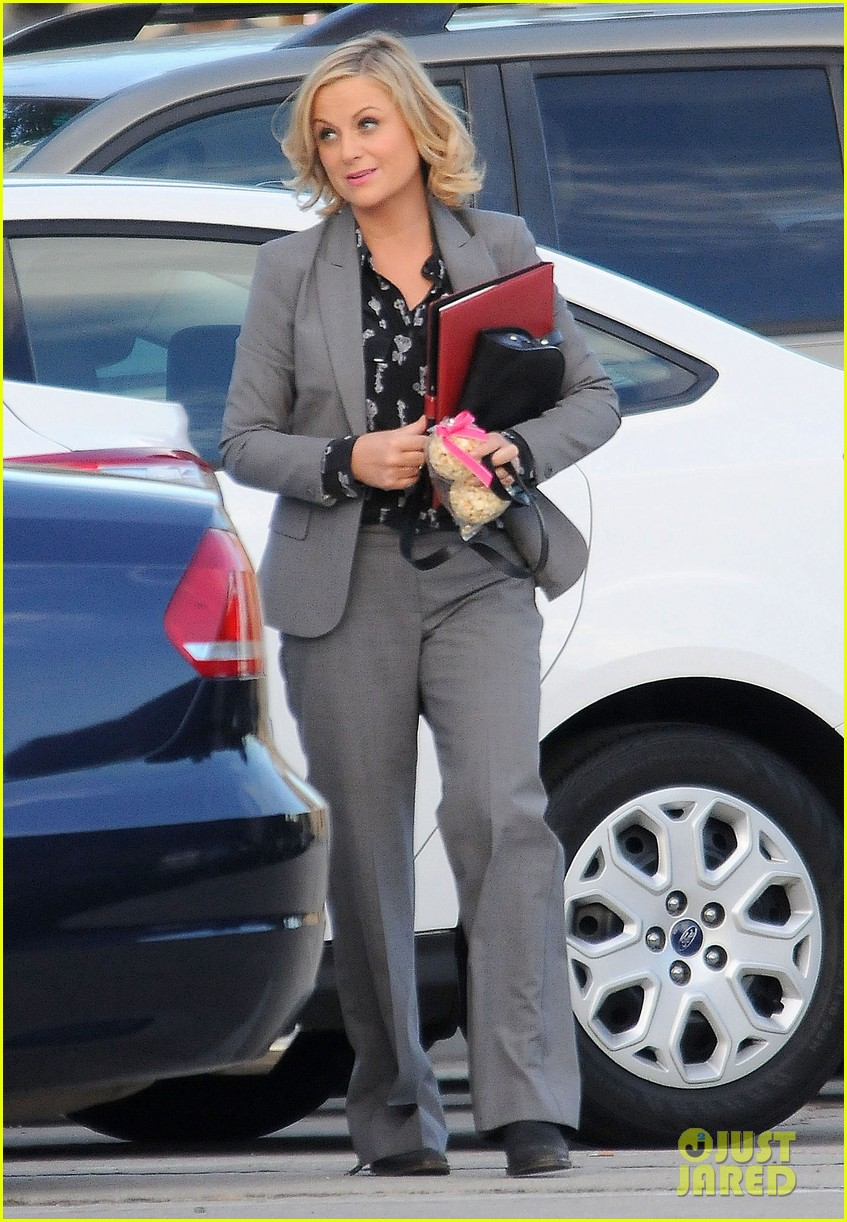 amy poehler adam scott film parks recreation together 092988438