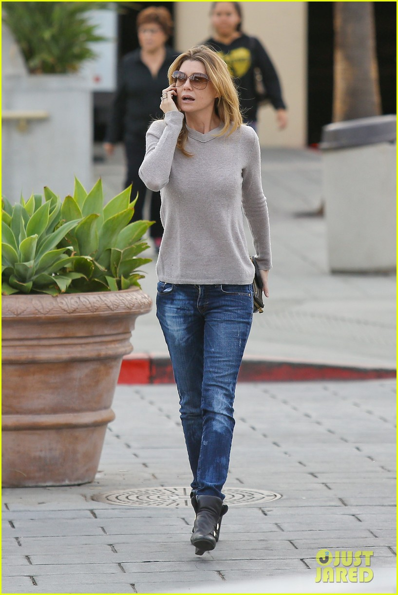 ellen pompeo steps out after greys anatomy birthday wishes 01