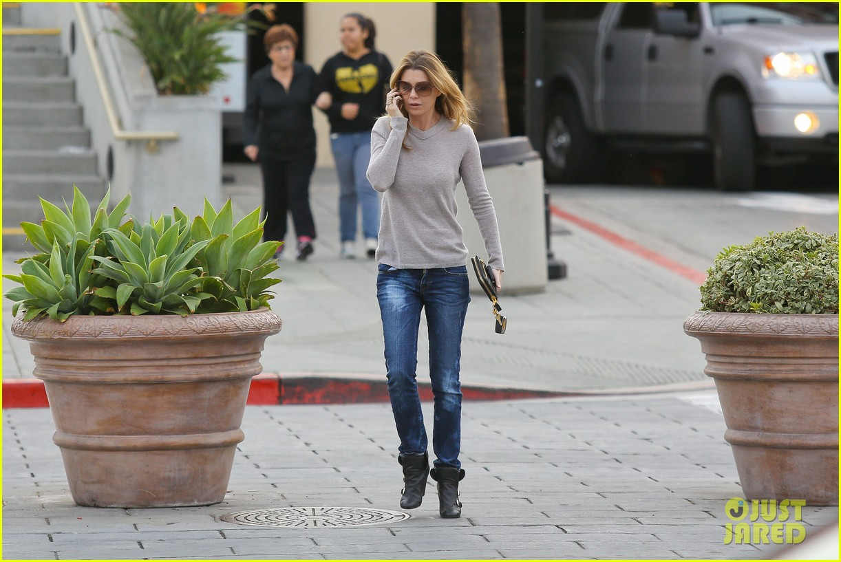 ellen pompeo steps out after greys anatomy birthday wishes 072995958