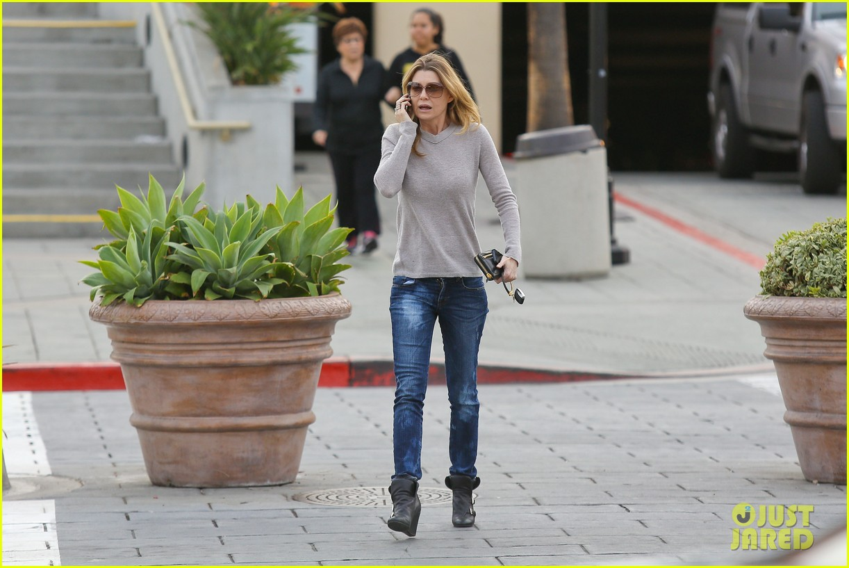 ellen pompeo steps out after greys anatomy birthday wishes 142995965