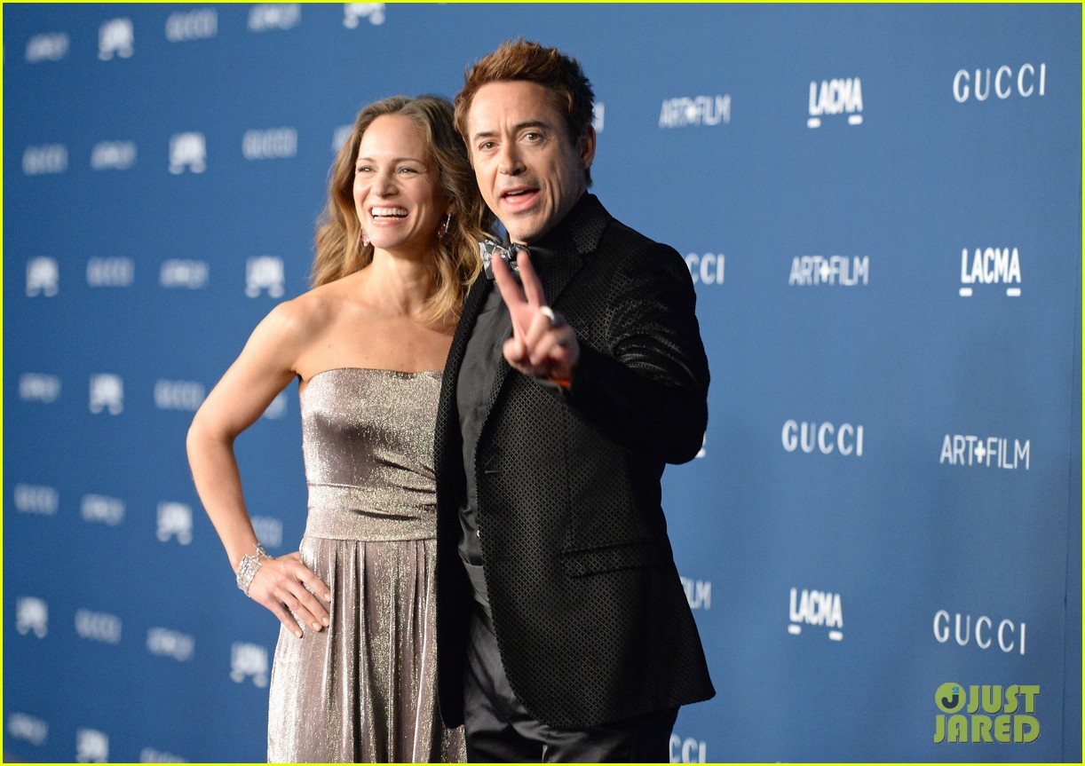 rdj will ferrell lacma art film gala 012985363