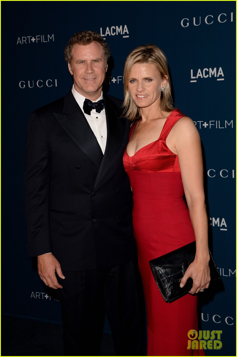 rdj will ferrell lacma art film gala 072985369