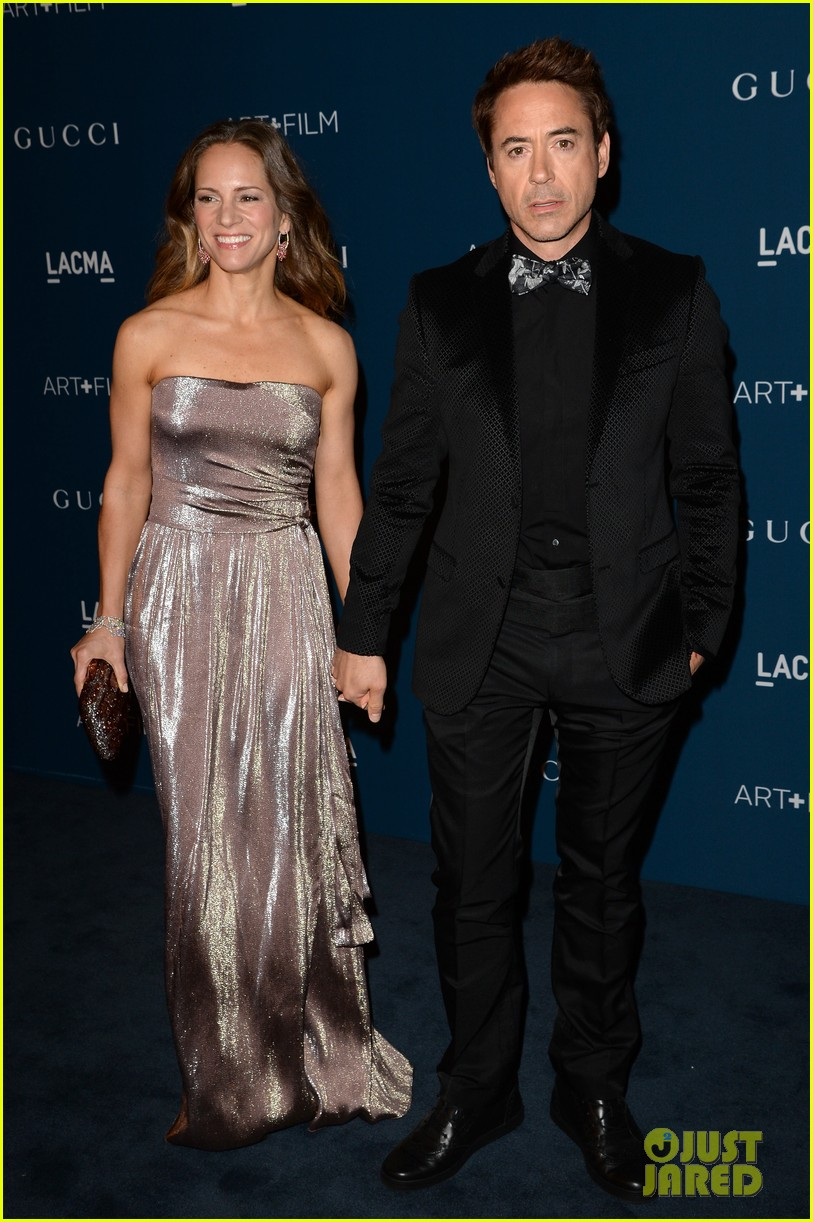 rdj will ferrell lacma art film gala 082985370