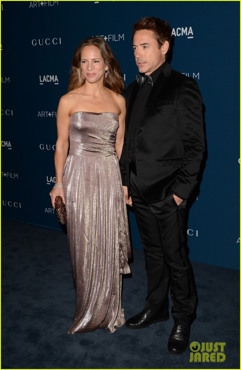 rdj will ferrell lacma art film gala 102985372