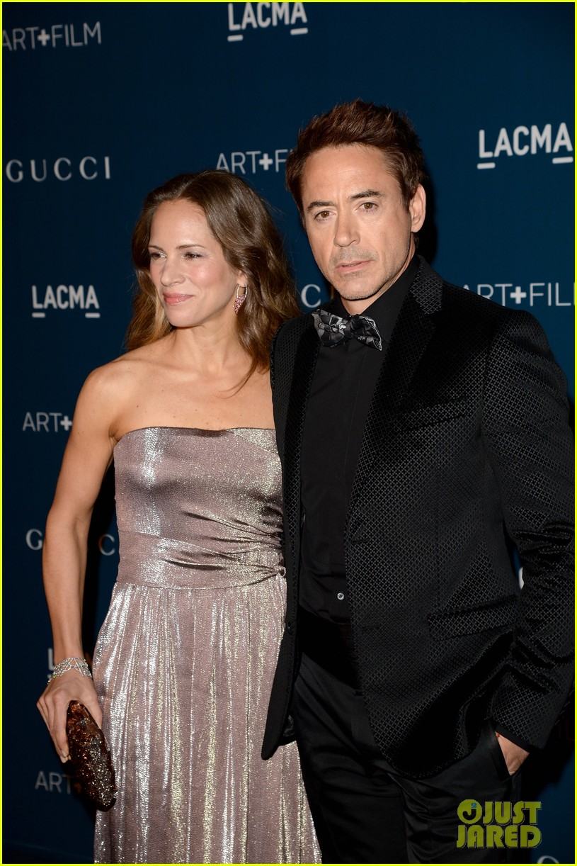 rdj will ferrell lacma art film gala 112985373