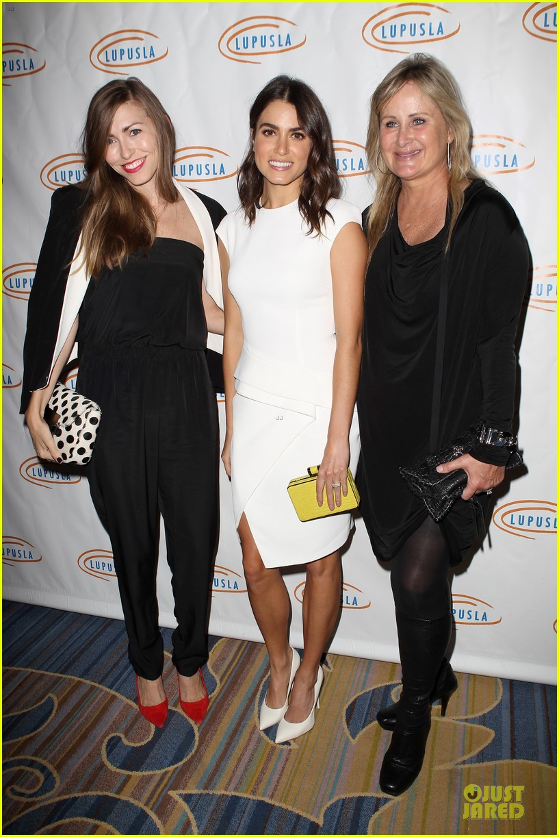nikki reed lupus la hollywood bag ladies luncheon 05