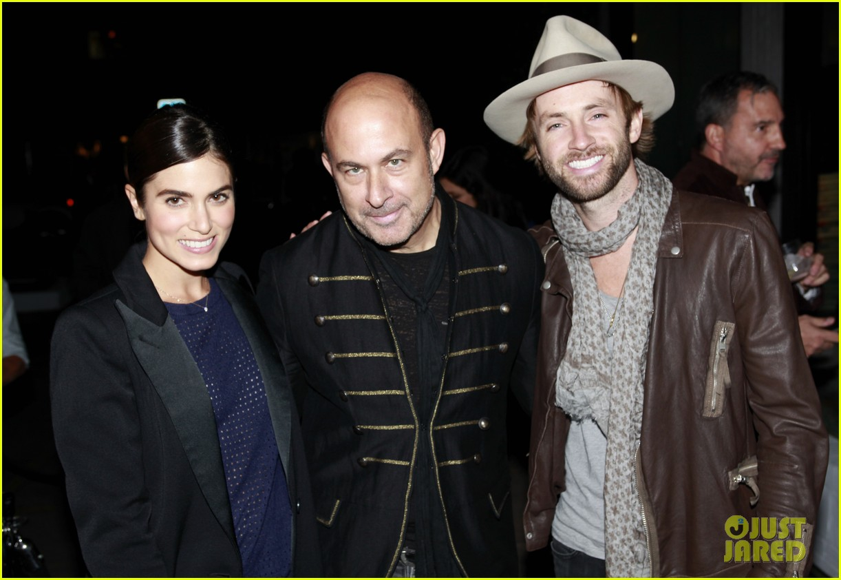 nikki reed paul mcdonald john varvatos book launch party 032988316