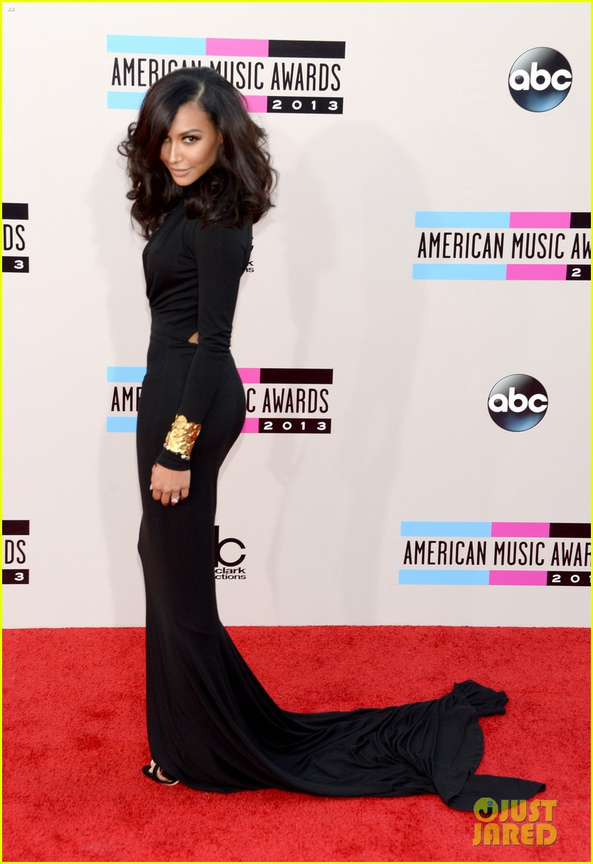 naya rivera amas 2013 red carpet 032999271