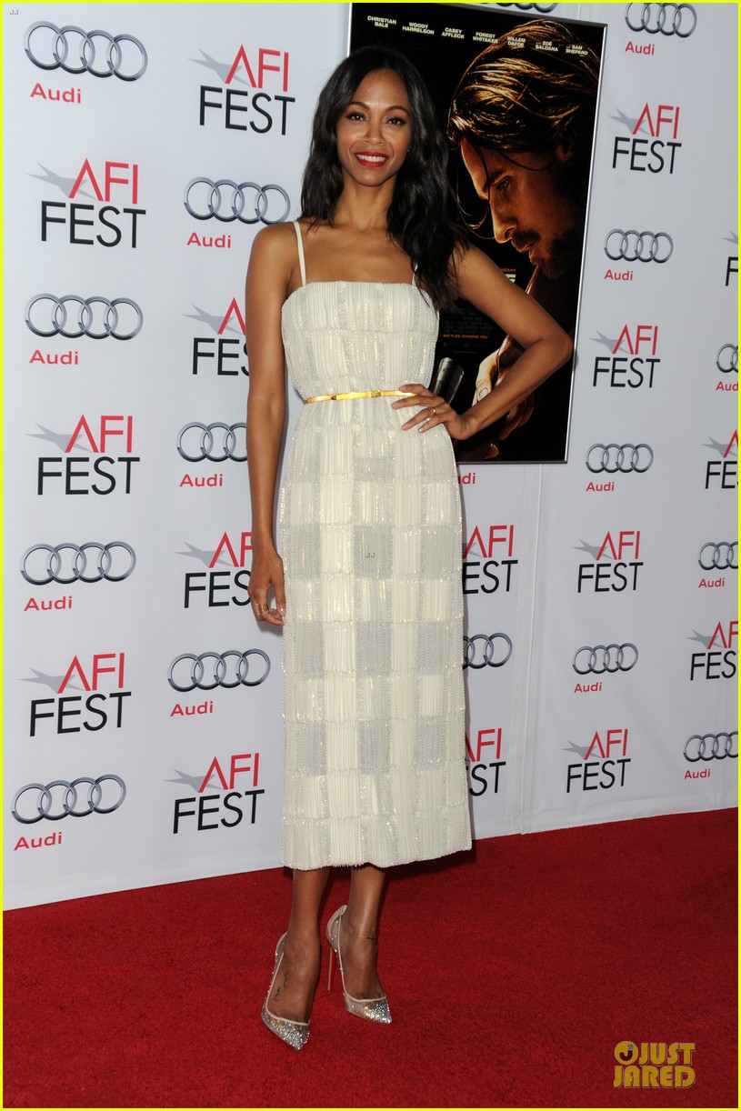 zoe saldana out of the furnace hollywood screening 10