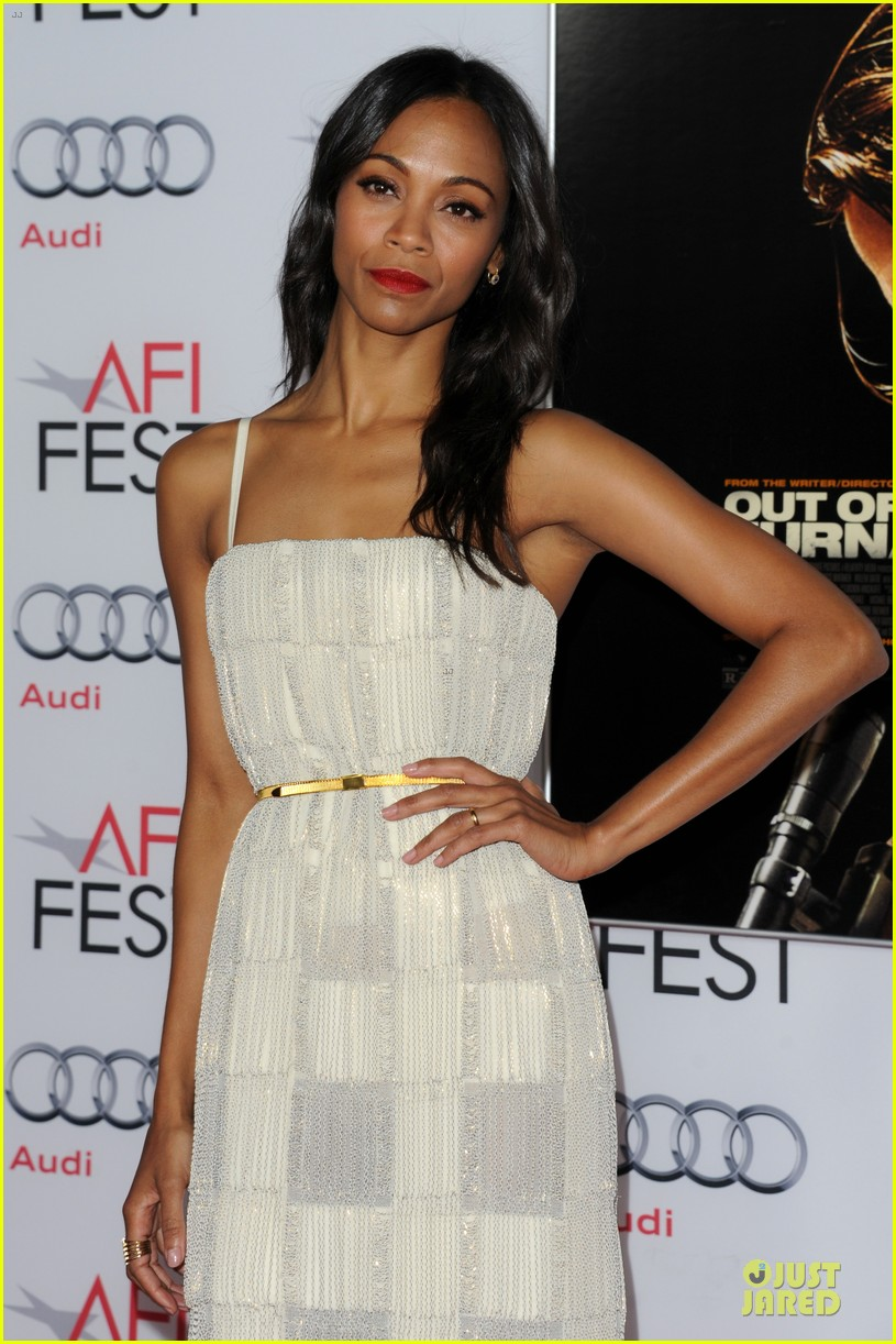 zoe saldana out of the furnace hollywood screening 152989466